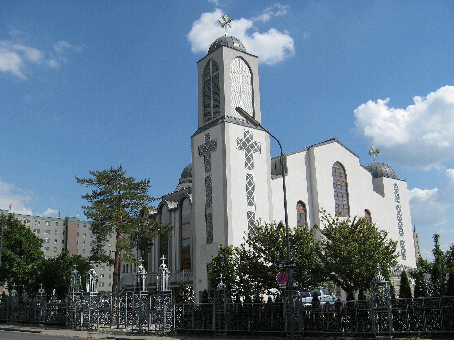 Wien - Koptisch-Orthodoxe Kirche (Quadenstraße)